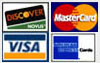 Visa | MasterCard | Discover | American Express